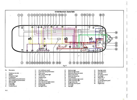 cer trailer battery wiring diagram get free image