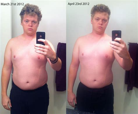 Cold Shower Weight Loss by 1st Month Before After Following Cold Thermogenesis