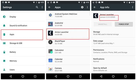 find apps on android how to find version number of an app installed on your device the android soul