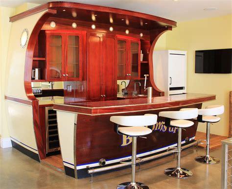 boat transom bar plans boat bar at gull lake residence built by carlson design