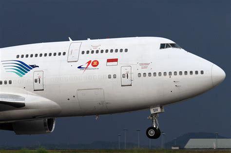 Harga Rc Pesawat Boeing by Pk Gsh Garuda Indonesia Boeing 747 400 At Kuala Lumpur