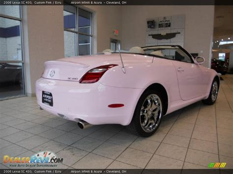 lexus pink 2006 lexus sc 430 custom pink ecru photo 5 dealerrevs com