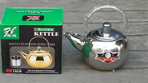 Jual Teko Listrik Surabaya jual teko kettle air bahan stainless steel ukuran 14cm