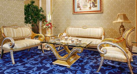 vintage living room furniture sets european golden style antique vintage comfortable and soft