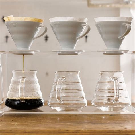 Mokhamano Transparant Flat Bottom Pour Coffee Dripper Size 02 hario ceramic coffee dripper v60 wh end 4 15 2018 11 45 pm