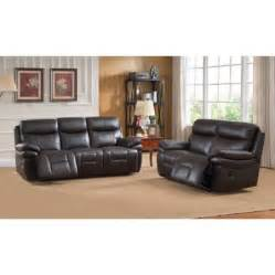 walmart leather sofa amax rushmore leather recliner sofa and loveseat set walmart com