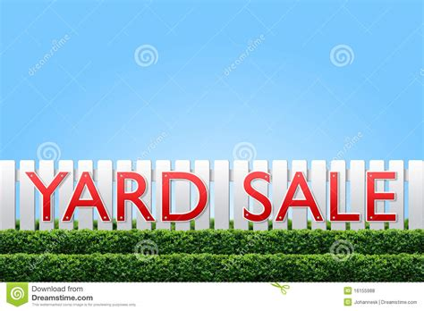 yard sale sign stock photo image of sale blue green