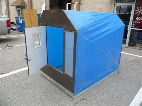 portable ice house plans plans quotes like success