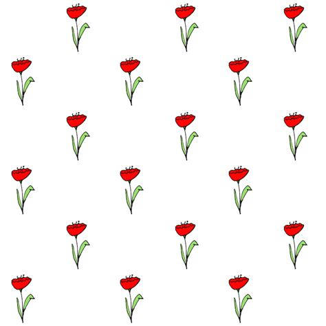 printable paper poppies free digital spring scrapbooking embellishment and poppy