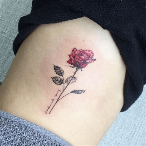rose tattoo love yourself tatted up pinterest rose