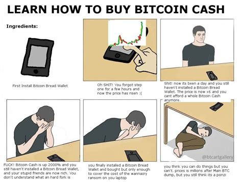 How To Make A Picture Meme - learn how to buy bitcoin cash btc