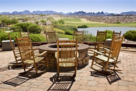 Patio Chairs For Around Pit 27 Outdoor Pit Ideas Design Pictures Designing Idea