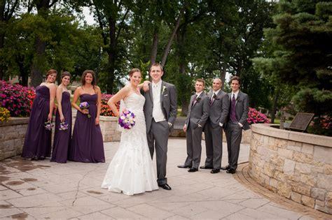 Modern Traditional Purple and Grey WeddingTruly Engaging