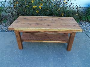 Cedar Coffee Table Cedar Coffee Table Sawn Lumber By Smithborowoodworks