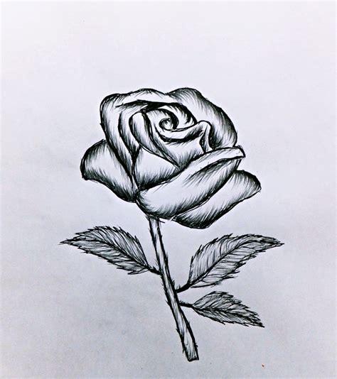Modèle De Dessin Facile exemple dessin crayon blanc sur papier noir t