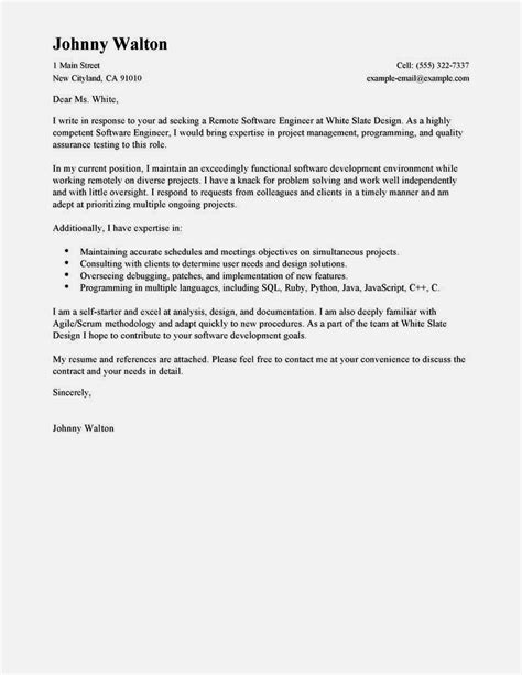 Cover Letter Sle Technical Support cover letter technical engineer 28 images technical