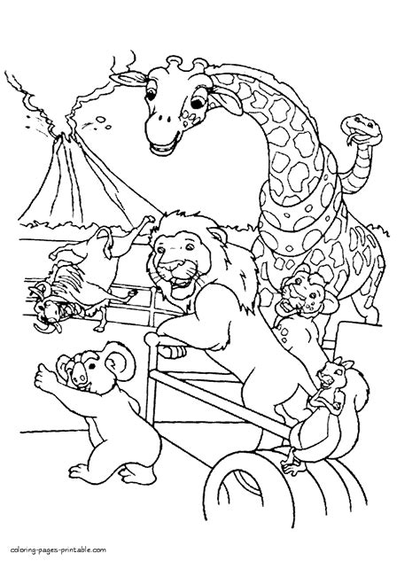 printable coloring pages wild kratts coloring pages of the animals from the wild kratts