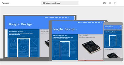 ui layout resizer east google 推出免費工具 resizer 測試rwd網頁設計效果
