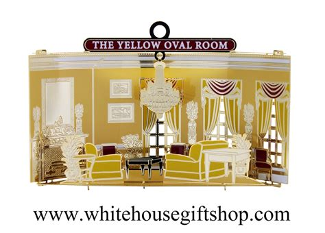 white house gold room new the rooms of the white house ornament collection the yellow oval room 7 in ongoing