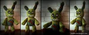Five nights at freddy springtrap plush by roobbo on deviantart