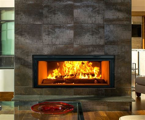 Wood Burning Fireplaces by Renaissance Rr50 Linear Wood Burning Fireplace