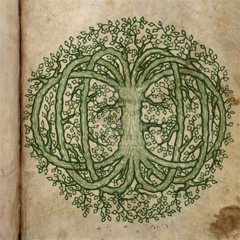 Tree Of Life by Tree Of Life Celtic Tattoo Long Hairstyles