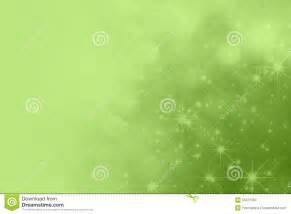 Light bright green background with bokeh and sparkling stars fading