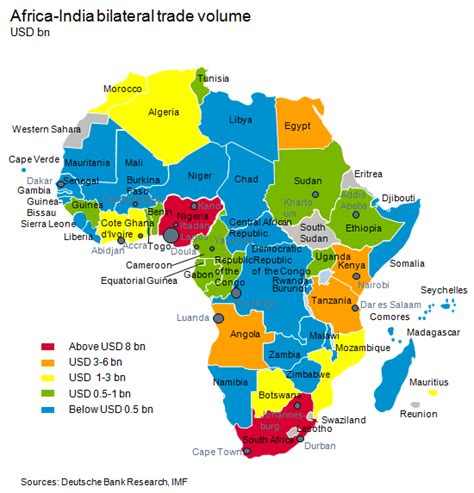 africa map indian india africa a partnership with untapped potential