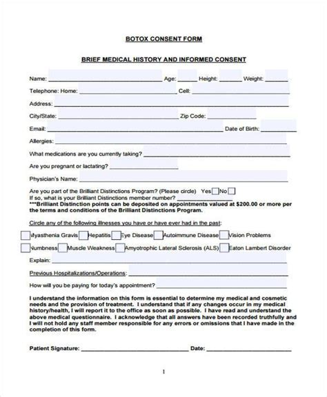 patient consent form template photo consent forms forms jpeg health history