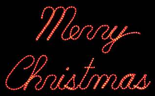 Outdoor Lighted Merry Christmas Signs » Home Design 2017