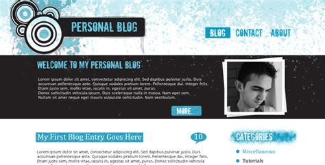 blog layout codecanyon grunge blog template by rjoshicool themeforest