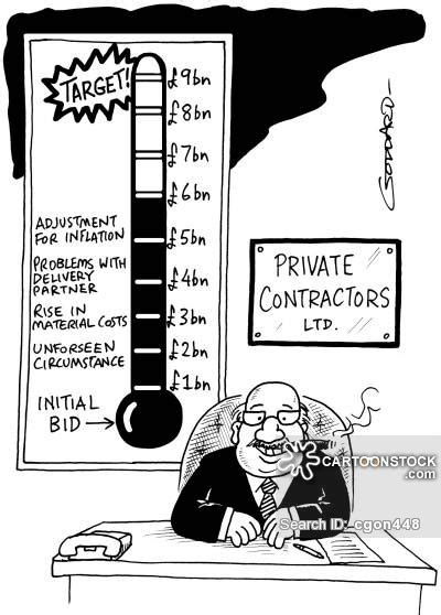 Small House Builders fundraising cartoons and comics funny pictures from