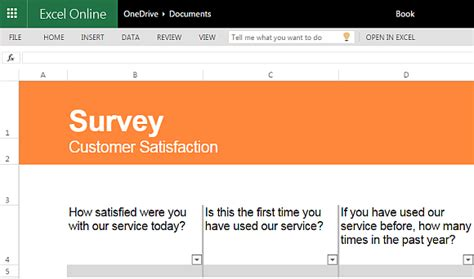 Best Free Survey Templates For Excel Customer Satisfaction Survey Template Excel