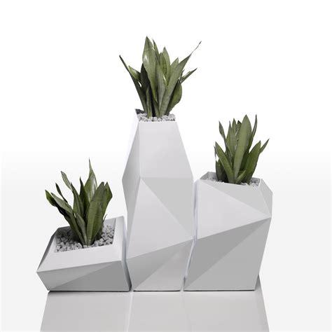 Modern Floor Vase Macetas Decorativas Y Macetas Con Luz De Vondom