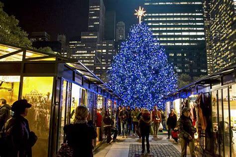 weihnachtsmarkt new york rockefeller christmas visita nueva york en navidades el de new york habitat
