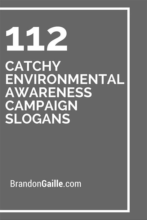 151 Catchy Environmental Awareness Campaign Slogans
