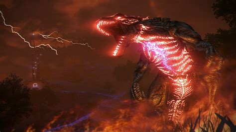 blood of dragons the far cry 3 blood dragon screenshots give first look at laser breathing dragons