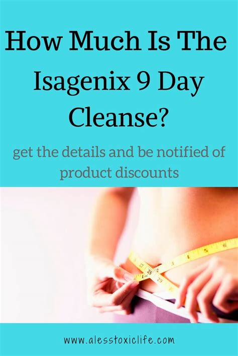 Detox Cost by Isagenix 9 Day Cleanse Cost