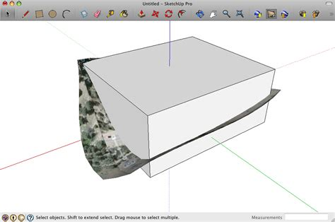 sketchup layout crop view retired sketchup blog slicer3 make physical site models fast