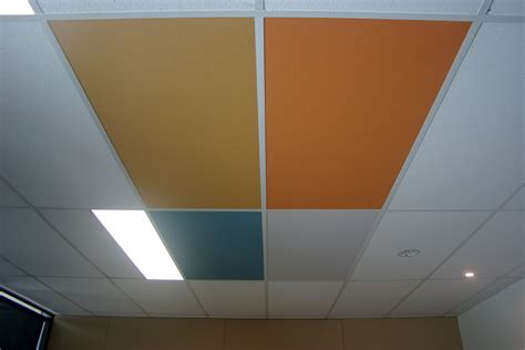 Acoustic Ceiling Panels by Fabric Acoustic Ceiling Panels From Sontext