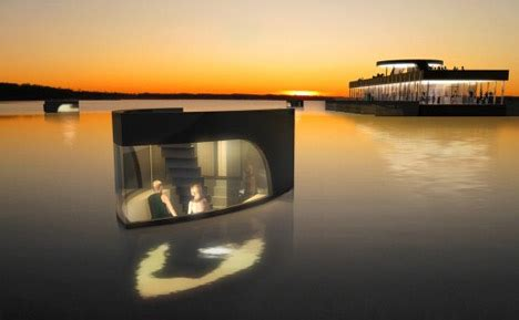 floating hotel room botel floating hotel with modular detachable room boats urbanist