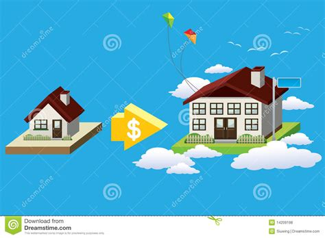 buy a big house buy a big house royalty free stock photos image 14209198