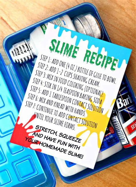 Slime Kit Slime diy slime kit make your own slime kit in 5 minutes