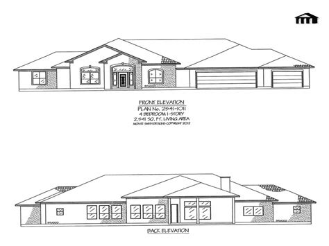 4 Bedroom House Plans One Story by 4 Bedroom One Story House Plans One Story 4 Bedroom Homes
