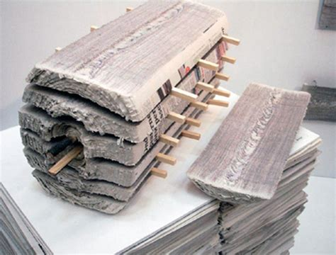 Paper Logs - lumber cut dried wood like recycled newspaper logs