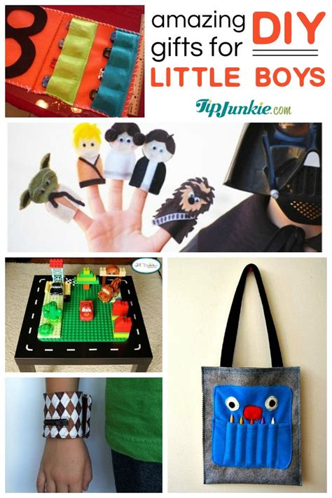 Handmade Gift Ideas For Boys - 40 awesome gifts to make for boys tip junkie
