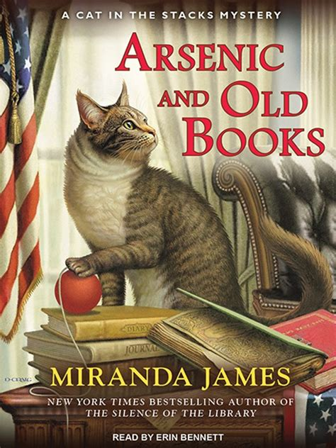 twelve angry librarians cat in the stacks mystery books cover image for arsenic and books