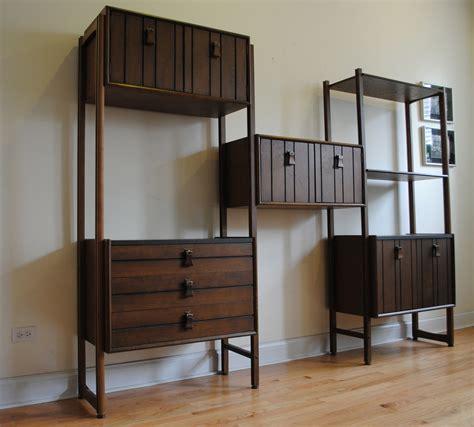 mid century modular shelving unit phylum furniture