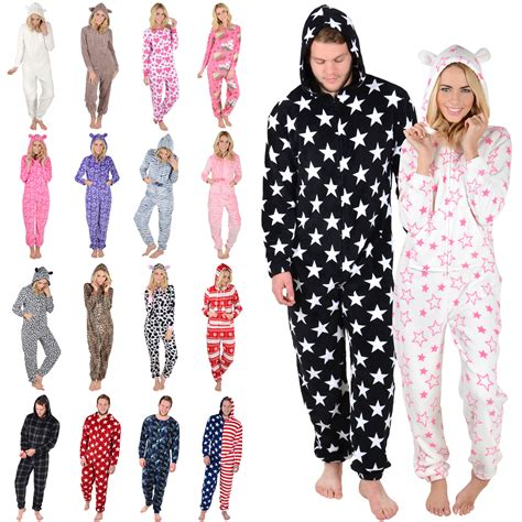 Marni Does Pyjamas Actually Day Clothes by Adults Fleece All In One Pyjamas Onesie Pjs Mens