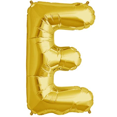 Decoration For Engagement Party At Home by 34 Gold Letter E Foil Balloon 9820 P Png